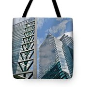 Chicago - City Of Big Shoulders Tote Bag