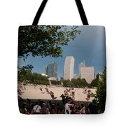 Chicago City Scenes Tote Bag