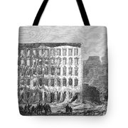 Chicago: Fire, 1868 Tote Bag