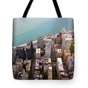 Chicago From Above 2 Tote Bag
