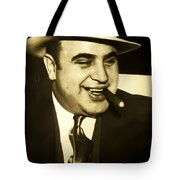 Chicago Gangster Al Capone Tote Bag