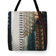 Chicago Geometry Tote Bag