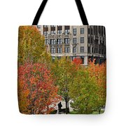 Chicago In Autumn Tote Bag