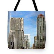 Chicago Panorama 1 Tote Bag