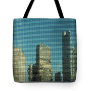 Chicago Window Reflections Tote Bag