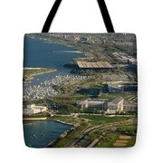 Chicagos Lakefront Museum Campus Tote Bag