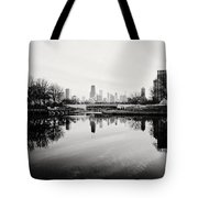 Chicago's North Pond Tote Bag