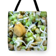Chickpea And Other Lentils In The Form Of Healthy Eatable Sprouts Tote Bag