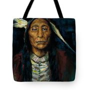 Chief Niwot Tote Bag