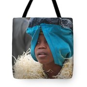 Child Behind The Mask Tote Bag