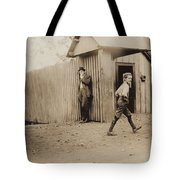 Child Goes To Work At Mill In Alabama - 1910 Tote Bag