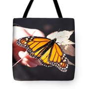 Child With Butterfly Tote Bag