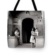 Childhood In Jaipur  Tote Bag