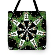 Children Animals Kaleidoscope Tote Bag