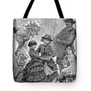 Children Dancing Tote Bag