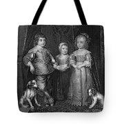 Children Of Charles I Tote Bag