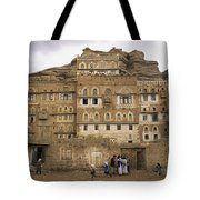 Children Play And Adults Talk Tote Bag