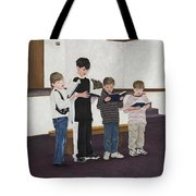 Children Sing Praise Tote Bag