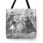Childrens Fashion, 1868 Tote Bag