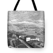 Chile: Valparaiso, 1865 Tote Bag