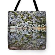 Chimney Pond Reflections Tote Bag