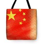 China Flag Tote Bag