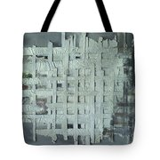 China Ghost Town-abandon Building Tote Bag
