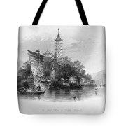 China: Golden Island, 1843 Tote Bag