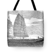 China: Junk, 1857 Tote Bag