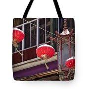 China Town San Francisco Tote Bag by Kelley King