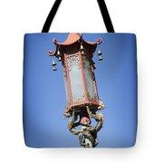 Chinatown Dragon Light Tote Bag