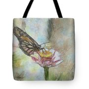Chinese Butterfly Tote Bag