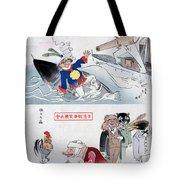Chinese Cartoon, 1895 Tote Bag