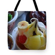 Chinese Food Miniatures 2 Tote Bag