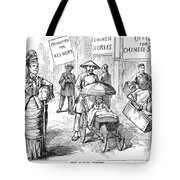 Chinese Immigrants, 1880 Tote Bag