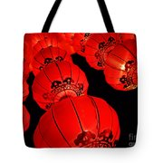 Chinese Lanterns 3 Tote Bag