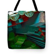 Chinese Pagoda Roof Detail Tote Bag