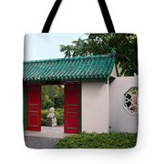 Chinese Scholar's Garden Tote Bag