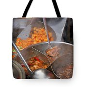 Chinese Street Food Tote Bag