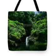 Chings Pond  Tote Bag by Ken Smith