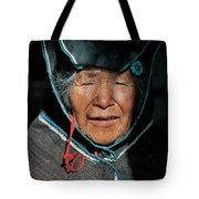 Chipaya Culture Grandmother. Department Of Oruro. Republic Of Bolivia. Tote Bag