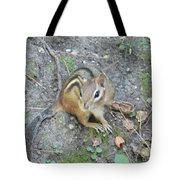 Chipmunk Feast Tote Bag