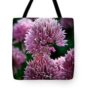 Chive Blossom Tote Bag