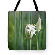 Chive Fields Tote Bag