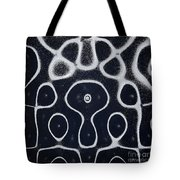 Chladni Oscillations On Metal Plate Tote Bag
