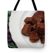 Chocolate Cheese With Nuts Tote Bag