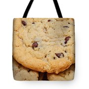 Chocolate Chip Cookies Pano Tote Bag