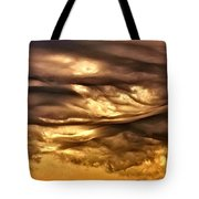 Chocolate Sky Tote Bag