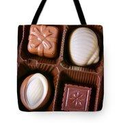 Chocolates Closeup Tote Bag