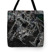Chopp It Up Tote Bag